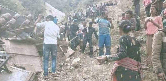 मुगु बस दुर्घटना अपडेट: मृतकहरूमध्ये १० जनाको सनाखत